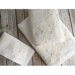 Набор полотенец Wedding Lily Молочный (3 шт) IRYA