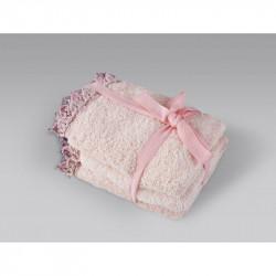 Набор полотенец Becca pembe розовый IRYA