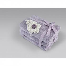 Набор полотенец Lona lila лиловый IRYA