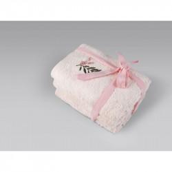 Набор полотенец Rina pembe розовый IRYA