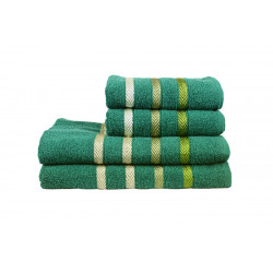 Полотенце махровое Vega зеленый IzziHome