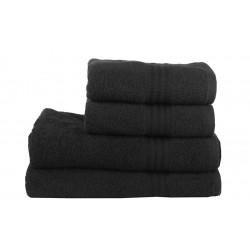 Полотенце RAINBOW Черное Hobby