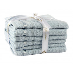 Набор полотенец NISA Голубой Hobby