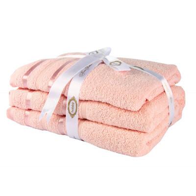 Набор полотенец NISA Пудровый