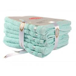 Набор полотенец NISA Светло-Бирюзовый Hobby