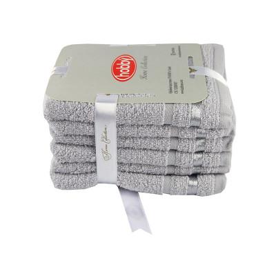 Набор полотенец NISA Светло-Серый Hobby