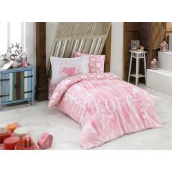 Постельное белье Poplin Love Розовое Hobby