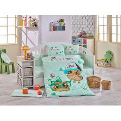 Детское постельное белье Cool Baby Мятное Hobby