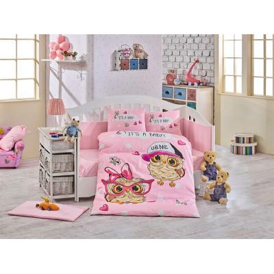 Детское постельное белье Cool Baby Розовое Hobby
