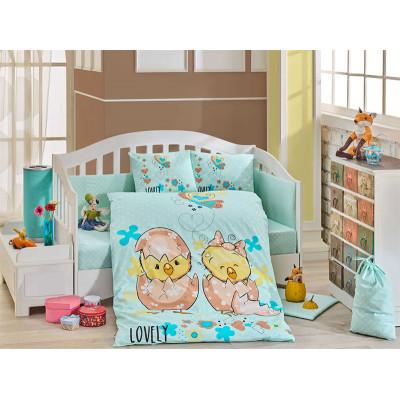 Детское постельное белье Lovely Мятное Hobby