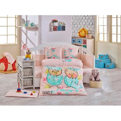 Детское постельное белье Lovely Персиковое Hobby