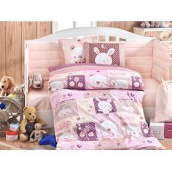 Детское постельное белье Snoopy Розовое Hobby