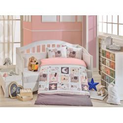 Детское постельное белье Sweet Home Розовое Hobby
