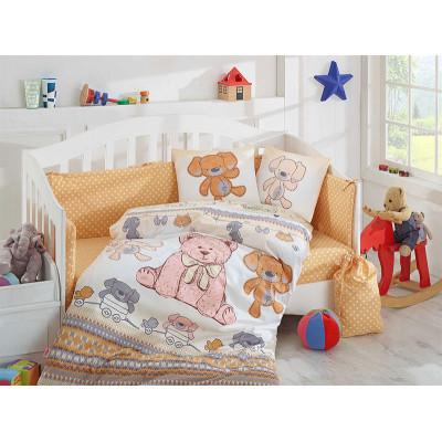 Детское постельное белье Tombik Желтое Hobby