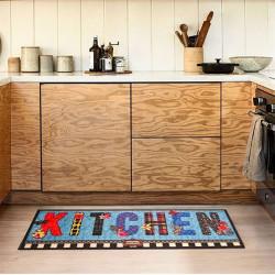 Коврик для кухни COOKY BUTTERFLY KITCHEN IzziHome