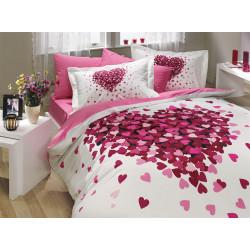 Постельное белье Poplin Juana розовое Hobby