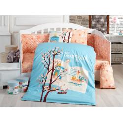 Детское постельное белье Dream Clock голубое Hobby