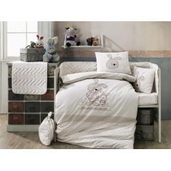 Детское постельное белье Elina бежевое Hobby