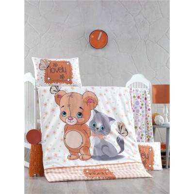 Детское постельное белье MOUSE AND CAT TM LightHouse