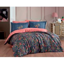 Комплект постельного белья Exclusive Sateen ESTELA синее Hobby
