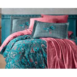 Комплект постельного белья Exclusive Sateen ESTELA серое Hobby