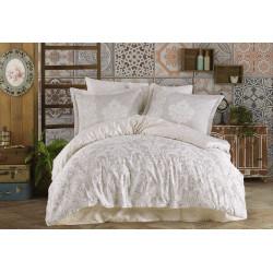 Комплект постельного белья Exclusive Sateen Susana бежевое Hobby