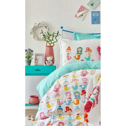 Подростковое постельное белье Sirena Ранфорс Karaca Home