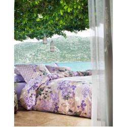 Постельное белье Sueno Лиловое Ранфорс Karaca Home