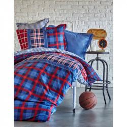 Подростковое постельное белье Ранфорс Пике Leal Karaca Home