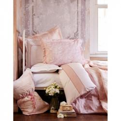 Набор постельного белья с покрывалом + плед Timeless best pudra Karaca Home