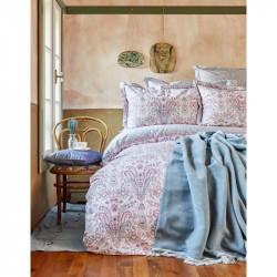 Набор постельное белье с пледом Luminda pembe Karaca Home