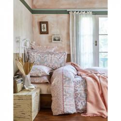 Набор постельное белье с пледом Luminda somon Karaca Home