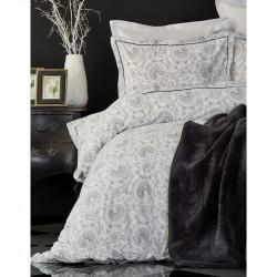 Набор постельное белье с пледом Tierra siyah Karaca Home