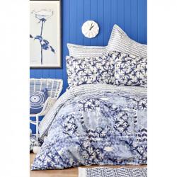 Набор постельное белье с покрывалом пике Milena Karaca Home