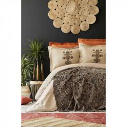 Набор постельное белье с пледом Aztec tarcin Karaca Home