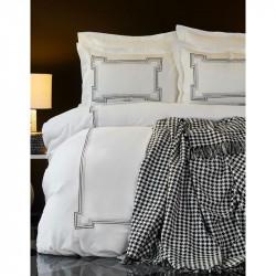 Набор постельное белье с покрывалом Bourbon siyah Karaca Home