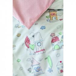Белье для младенцев Candy pudra пудра ранфорс Karaca Home