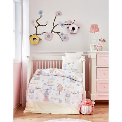 Белье для младенцев Happy ранфорс  Karaca Home