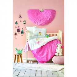 Белье для младенцев Lovable pudra пудра ранфорс Karaca Home