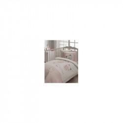 Белье для младенцев Stelle розовое ранфорс Karaca Home