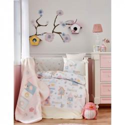 Детский плед в кроватку Happy Karaca Home