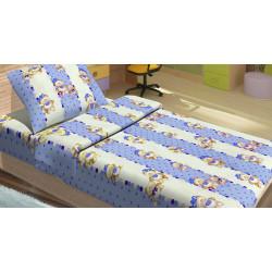 Детское постельное белье Ранфорс MiMi Голубое LOTUS