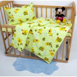 Детское постельное белье Ранфорс NiKi Зеленое LOTUS