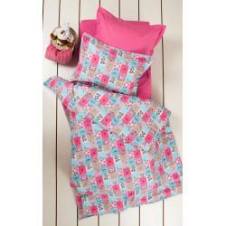 Подростковое постельное белье Premium B&G Sweetie Розовое LOTUS