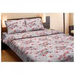 Комплект постельного белья OSAKA Красный Ранфорс LOTUS