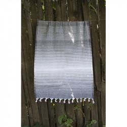 Полотенце Pestemal Black Micro stripe LOTUS