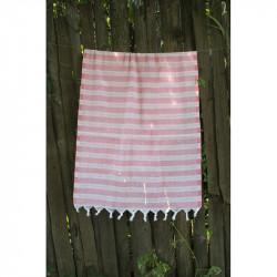 Полотенце Pestemal Pink Hard stripe LOTUS
