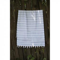 Полотенце Pestemal Blue Hard stripe LOTUS