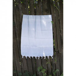 Полотенце Pestemal Blue Micro stripe LOTUS