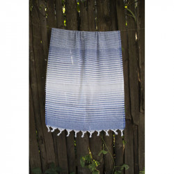 Полотенце Pestemal Navy-blue Micro stripe LOTUS